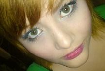 lentes de contacto trikolor en color verde