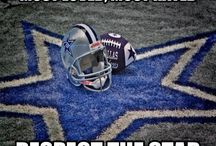 Let's GO Cowboys!!! / Dallas Cowboys - my favorite NFL team. I may live in NC but I DO NOT have to cheer for the Panthers and I DON'T. If folks think bad of me because I don't , I DON'T CARE. When the Panthers win 5 Super Bowls they can come talk to me then. / by Ang Norris