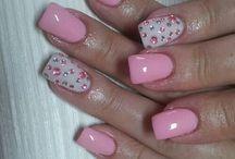 nail#rosa