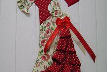Régi ruhás patchwork