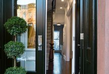 Open Townhome Entryways