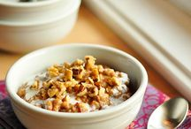 Muesli, Porridge and Granola