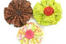 Hair Bows / Ribbon Sculptures for Hair Clips / by Poteau Pets