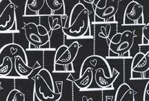 prints and patterns / fabrics, wallpaper and any other prints that catch my eye / by Amber Anderson
