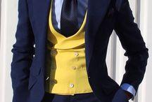 Contrast Waistcoat (Vest)