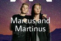 Mareus and martinus