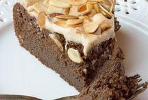 Sugar Free Flourless Chocolate almond torte