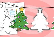 Christmas Crafts / Christmas craft resources and 'How to' guides for primary school teachers