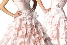 Colors: Pink Gowns / by Donna D'Amico
