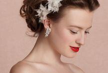 Bride accessorized