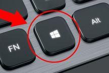 tlačitka na počítači