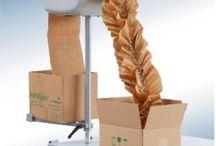 Papillon térkitöltő papír / Storopack Paperplus Papillon egy komplett csomagolási rendszer, melynél a kettő 20 cm széles papírcsíkból készül el a könnyű, dekoratív térkitöltő papír.  Felhasználási területe: könnyű termékek, kis súlyú dobozokhoz. Pl: bio termékek, kozmetikumok, táplálékkiegészítők, elektronikai termékek