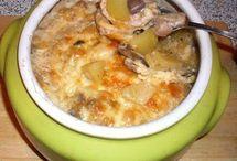 Еда-блюда в горшочках