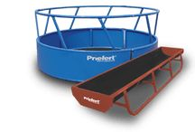 Priefert Cattle Feeders / We offer a wide variety of feeders developed for the cattle market. These include bunk feeders, round bale feeders, creep feeders, feeder panels and more.
