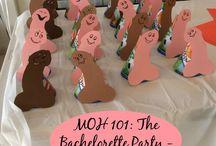Fun bachelorette stuff / by Courtney Fluharty