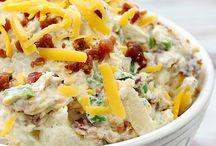 Bacon and ranch potatoe salad