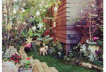 クリスマス お庭