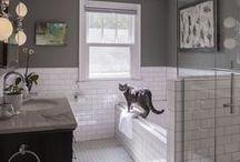 Fürdőszoba - alacsony csempe