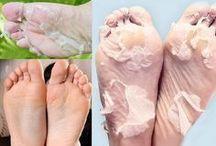 esfoliante para os pés