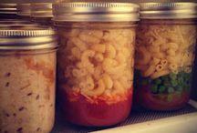 mason jar meals / by Ashley Quirk