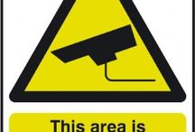 Security & CCTV signs / Our CCTV signs and general security signs are available in a range of sizes and materials. So whether you've problems with shoplifters, thieves or trespassers we should have the security sign to meet your requirements.  Among the CCTV signs and security signs available are alarm signs, guard dog signs, CCTV in operation, You are on CCTV, This Area is under 24 hour CCTV surveillance.