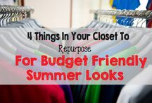 Fashion On a Budget / Who doesn't love getting new clothes? If you're on a budget, check out these pins for saving money on filling your closet!