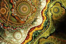 Spirales et fractales