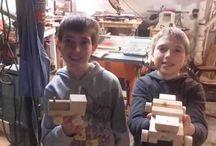 homeschool - woodworking / by Kira Gundersen