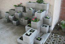 Planteringskärl / Betong