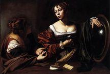 arte - Caravaggio (1571-1610) / arte - pittore italiano