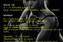 Workouts / by Lynnsey English