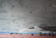 how to paint a faux concrete