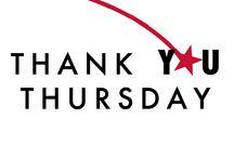 Thank You Thursday / Thank You Thursday