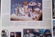 Arte in cammino. / Articolo pubblicato da una rivista Spagnola sull' Arte in Miniatura. Ringrazio Lupe Soto per avermi informato sulla pubblicazione e per l'invio delle rispettive immagini. #SalvatoreAnastasioSpagna #AnnaBisognoPastori