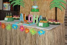 Luau Birthday Party
