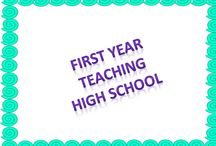 FIrst Year Teacher- High School  / Great Lessons to help with your first year teaching high school!