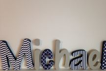 Nursery letters / by Lindsay Hill