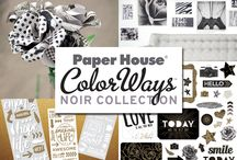 ColorWays Noir Collection / Noir is a gritty yet sophisticated exploration of black.