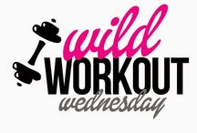 Wild Workout Wednesday / Join 4 Health & Fitness bloggers in an awesome link up adventure!  Here you will find all sorts of fun pins from our weekly link up...Wild Workout Wednesday!