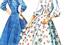 overall dress / #suspender #overall #style #dress