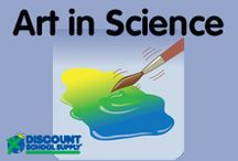 ART in SCIENCE / Explore art products & activities that support science development.