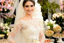 vestido de noiva com manga longa ❤