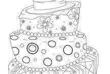 digitale stamp birthday