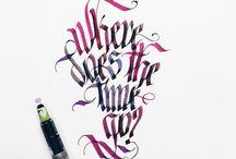 handwriting-typography