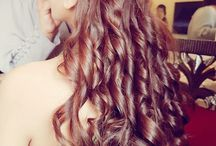 Engagement/Reception hairstyles▶