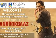 Bandookbaaz Star Cast at Sharda University Campus
