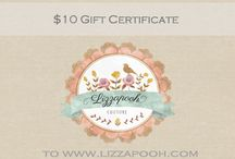 Lizzapooh Giveaways! / Take advantage of many amazing prizes over at Lizzapooh. / by Liz Parker