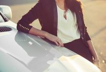 Women and cars photography