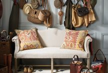 Boot Rooms / Classic English country boot room interiors to inspire, as well as stylish practical cabinetry ideas for large or small spaces for muddy wellies, coats....