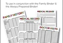 Organization - Planners & Printables